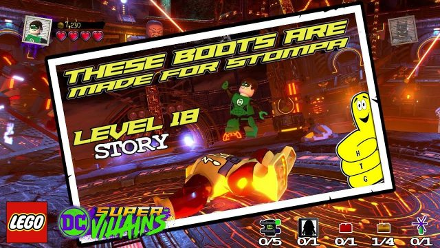 Lego DC Super-Villains: Level 18 / These Boots Are Made For Stompa STORY – HTG