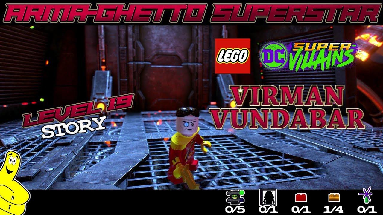 Lego DC Super-Villains: Level 19 / Arma-Ghetto Superstar STORY – HTG
