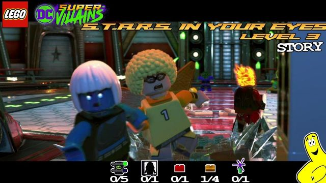 Lego DC Super-Villains: Level 3 / S.T.A.R.S. In Your Eyes STORY – HTG