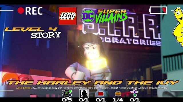 Lego DC Super-Villains: Level 4 / The Harley and the Ivy STORY – HTG