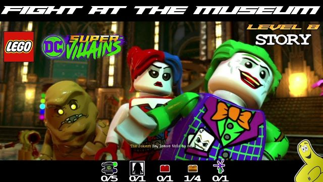 Lego DC Super-Villains: Level 8 / Fight at the Museum STORY – HTG