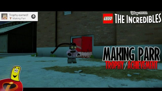 Lego The Incredibles: Making Parr Trophy/Achievement – HTG