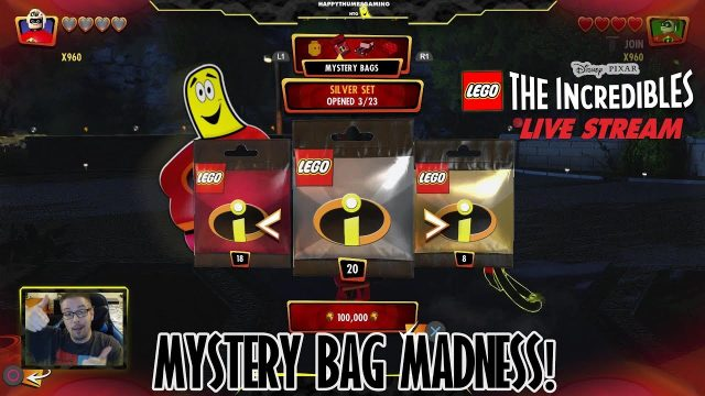Lego The Incredibles: Mystery Bag Madness!  (9/21/18) – HTGTv