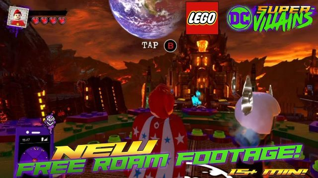 Lego DC Super-Villains: FREE ROAM Gameplay (15+ Min) – HTG