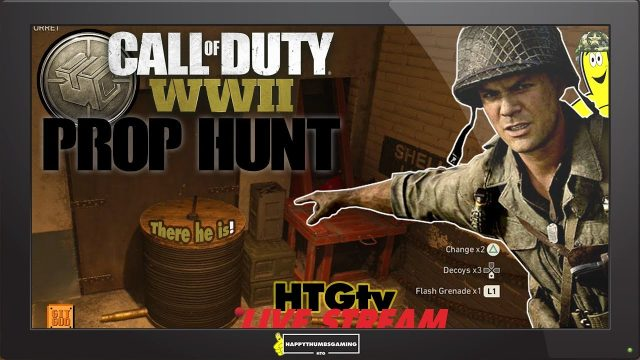 Call of Duty WWII: Prop Hunt and More! (10-10-18) – HTGtv