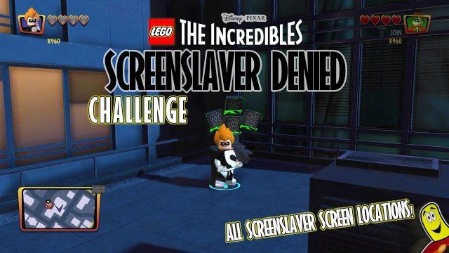 Lego The Incredibles: Screenslaver Denied CHALLENGE – HTG