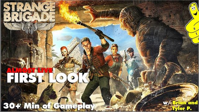 Strange Brigade: FIRST LOOK (Almost Live!) – HTG