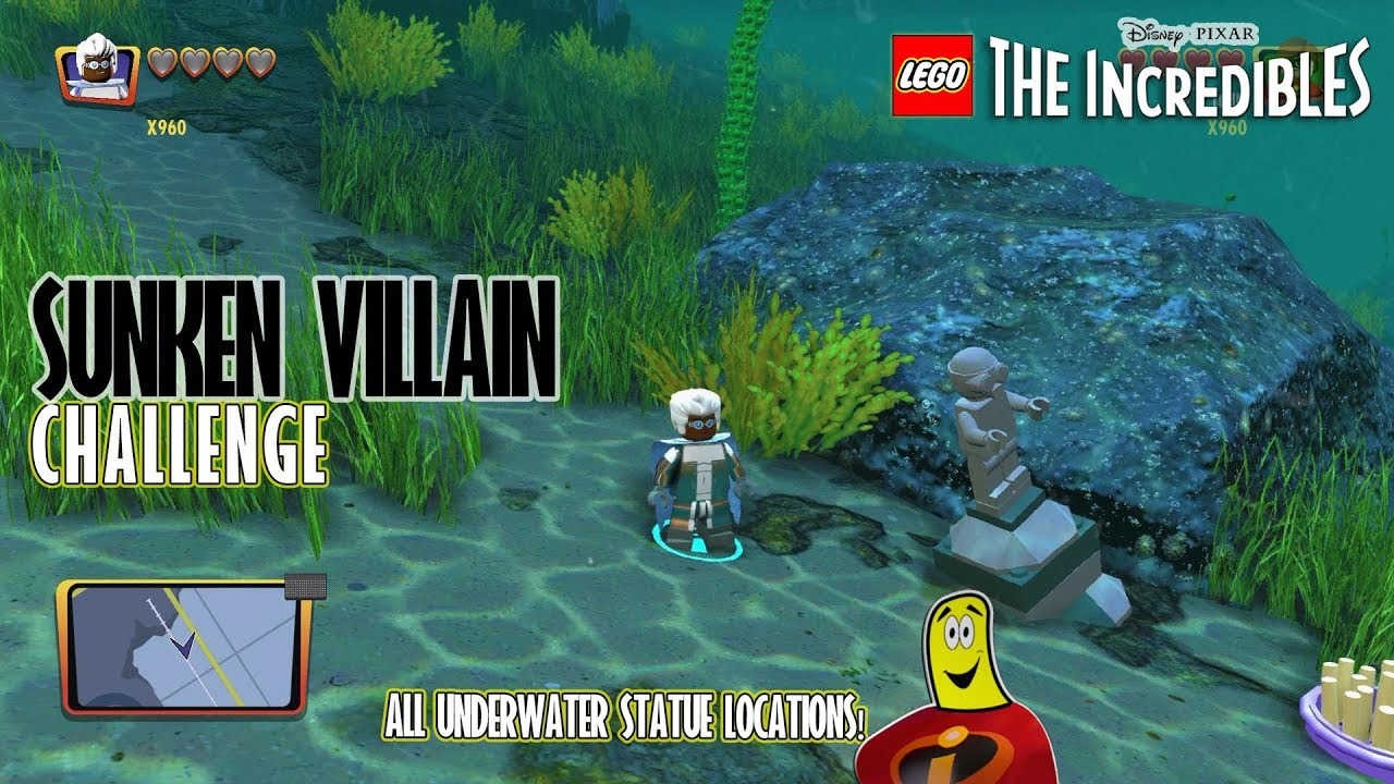 Lego The Incredibles: Sunken Villain CHALLENGE – HTG