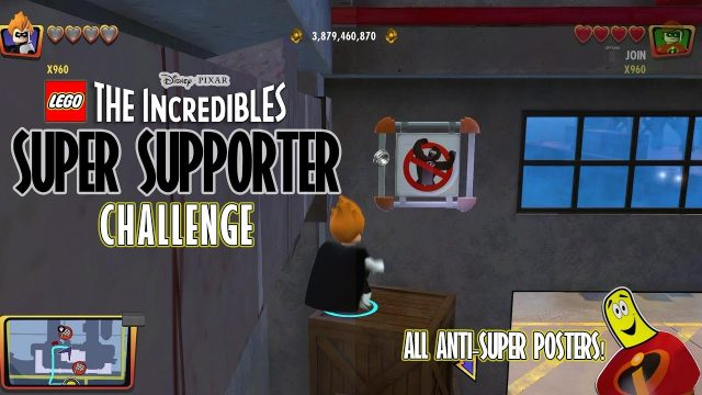 Lego The Incredibles: Super Supporter  CHALLENGE – HTG