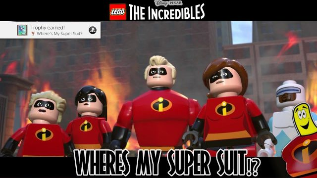 Lego The Incredibles: Where's My Super Suit Trophy/Achievement – HTG